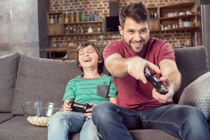 Gaming en familia, nuevos hábitos (Shutterstock)