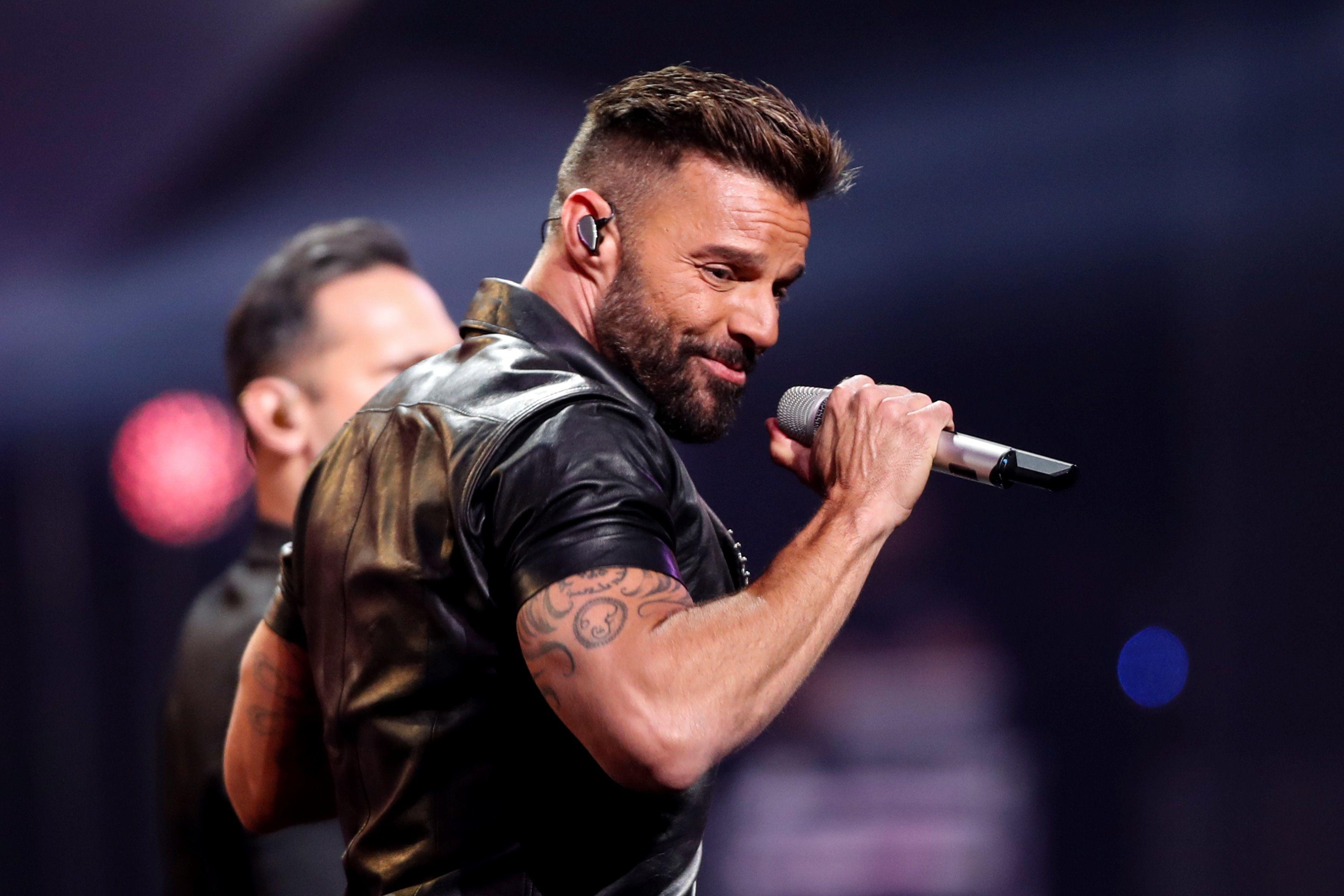 En la imagen, el cantante puertorriqueño Ricky Martin. EFE/Alberto Valdes/Archivo