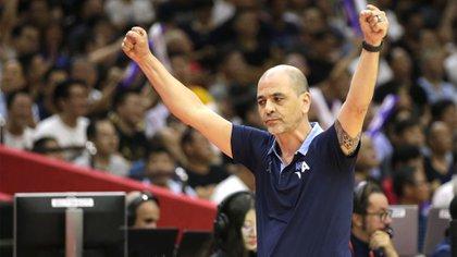 Sergio Hernández dejó la selección argentina para dirigir en el básquet español (REUTERS/Jason Lee)