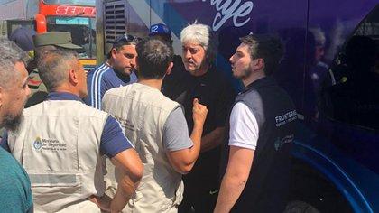 Rafael Di Zeo fue deportado desde Colombia, donde tenía previsto asistir al encuentro entre Boca y Deportes Tolima