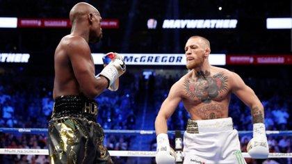 Conor y Floyd se enfrentaron en el 2017 (Foto: Reuters)