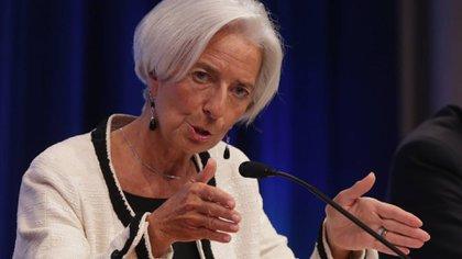 Lagarde, directora del FMI