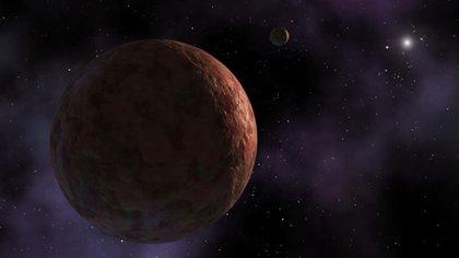 Ilustración del misterioso objeto en los límites de nuestro sistema solar