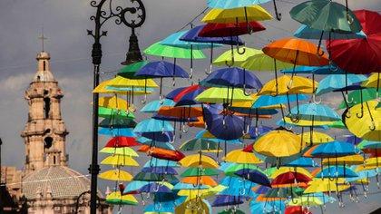 La Feria de San Marcos 2021 fue pospuesta debido a que no existen condiciones sanitarias adecuadas en el estado de Aguascalientes (Foto: Cuartoscuro)