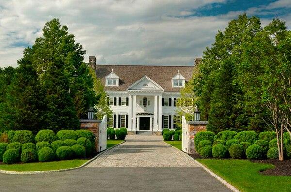 La mansión de Thalía y Tommy Mottola tiene un valor de 15.5 millones de dólares (Douglas Elliman)