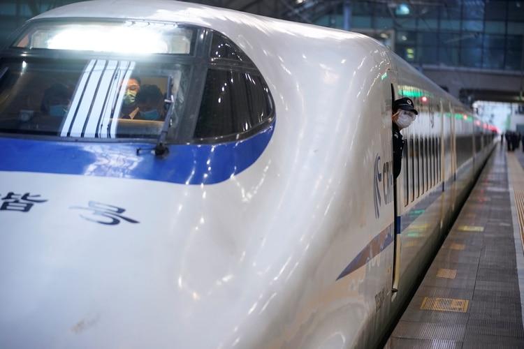 Μόνο δύο τρένα συνδέουν το Πεκίνο και το Γουχάν την ημέρα (REUTERS / Aly Song)