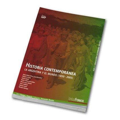 Uno de los manuales de Historia argentina contemporánea para nivel secundario que no aborda las presidencias de Julio A Roca
