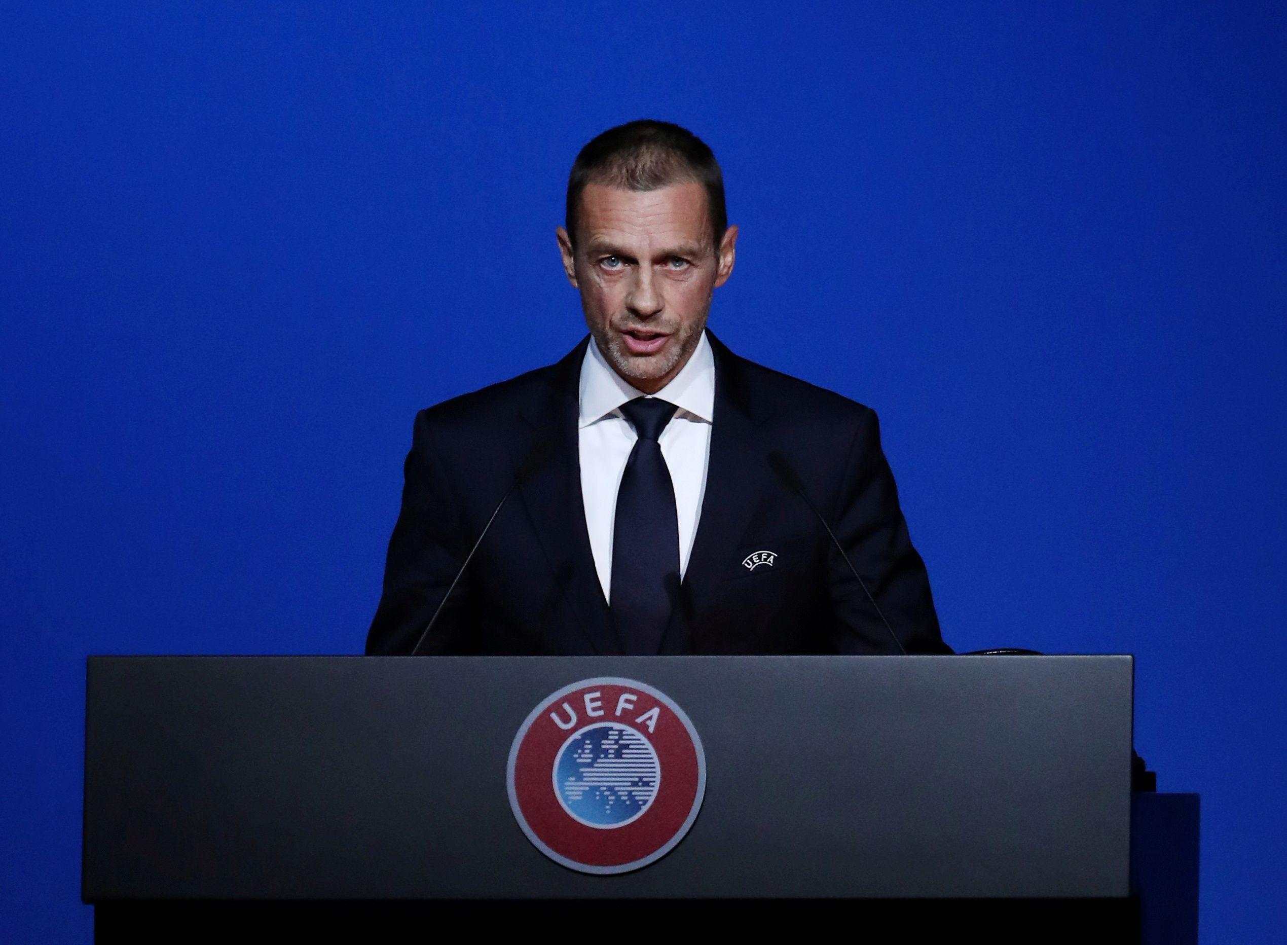 Ceferin se refirió a las nuevas reformas de la Champions (Reuters)