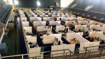 Uno de los centros de aislamiento donde hubo denuncias por encierros compulsivos