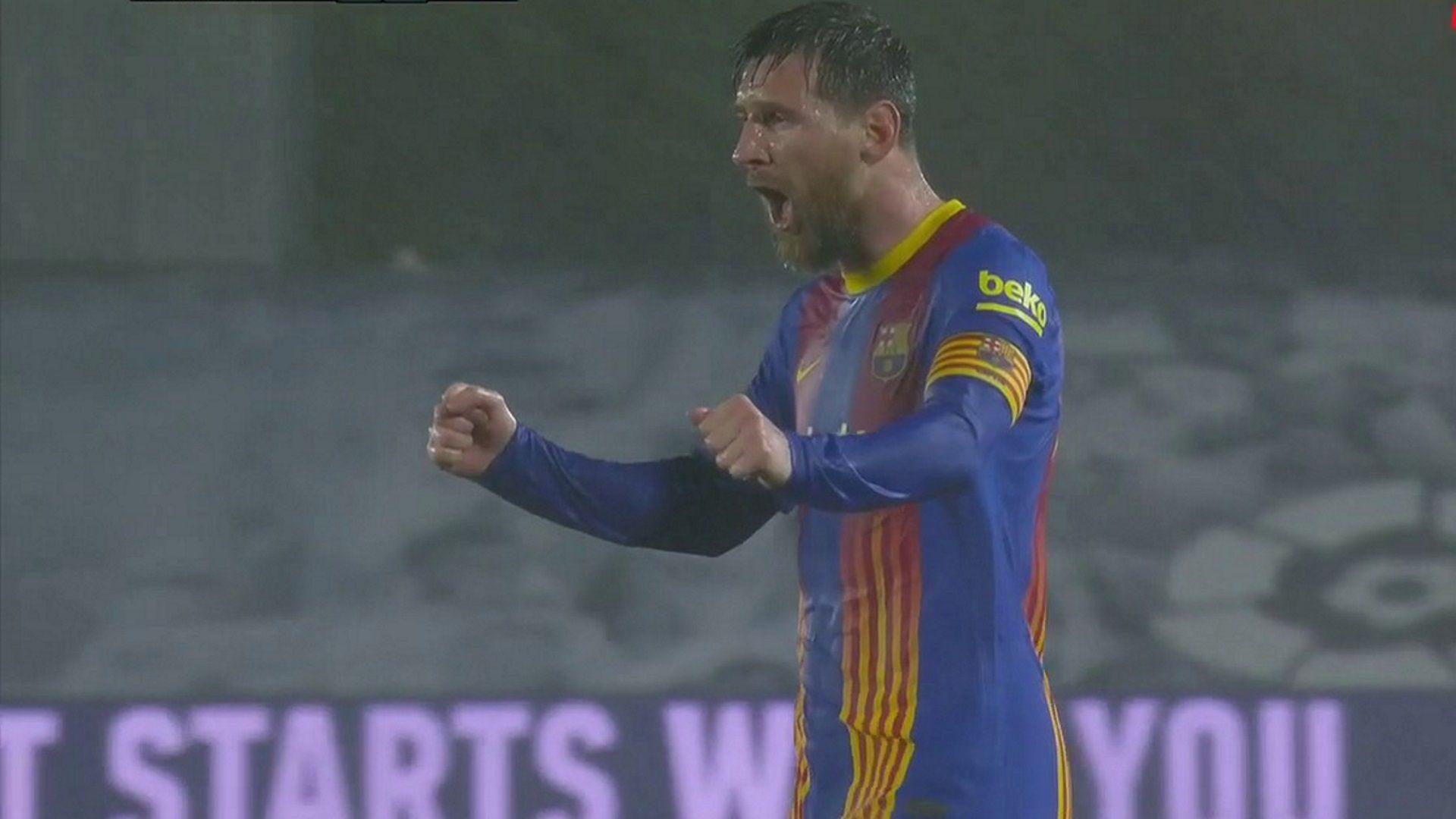 Messi Grito Real Madrid Barcelona