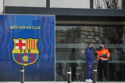 Las oficinas del Barcelona fueron allanadas este lunes (Reuters)