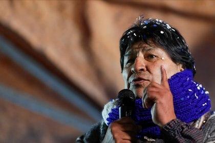 Evo Morales. REUTERS/Ueslei Marcelino
