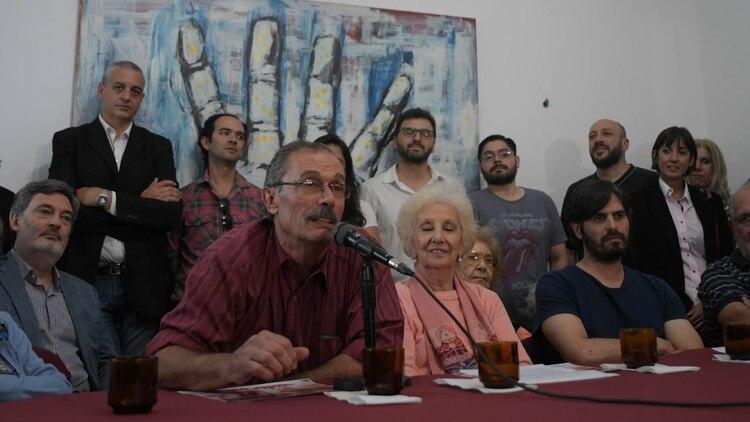 Carlos Sonsona, padre de la nieta recuperada