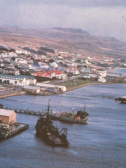 Pebble Island forma parte del archipiélago de Malvinas