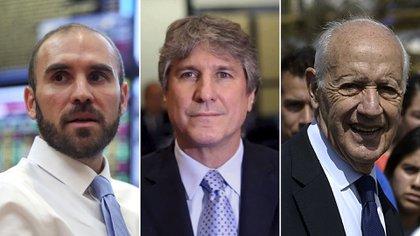 Los antecesores del ministro de Economía, Martín Guzmán, Amado Boudou y Roberto Lavagna impusieron condiciones mucho más agresivas a los acreedores. Pero sufrieron en los tribunales de Nueva York algo que Guzmán busca evitar