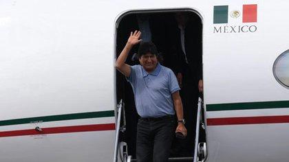 Evo Morales fue recibido por el gobierno de AMLO cuando fue depuesto en Bolivia como presidente (Foto: Graciela López/ Cuartoscuro)
