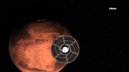 Después de siete meses de viaje y 494 millones de kilómetros recorridos, el robot Perseverance llegará a Marte (NASA)