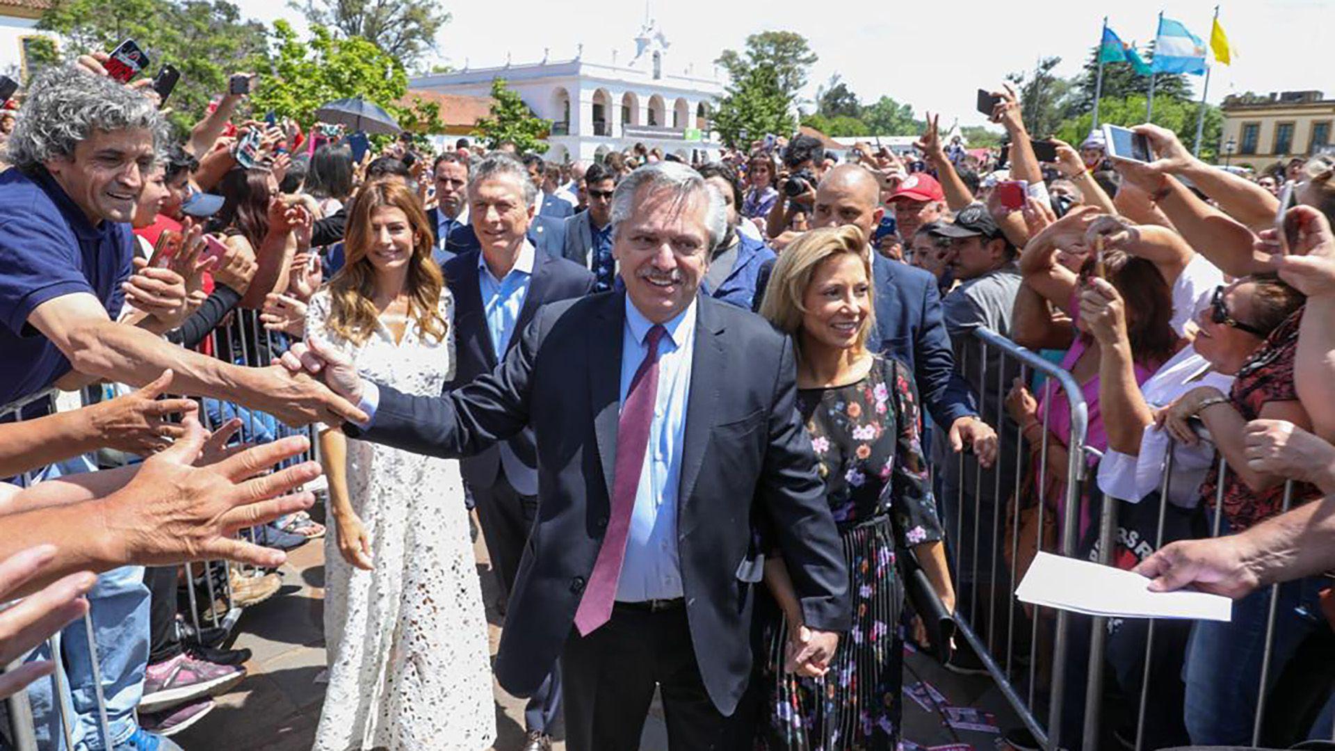 Alberto Fernández, presidente electo en la Misa de Luján