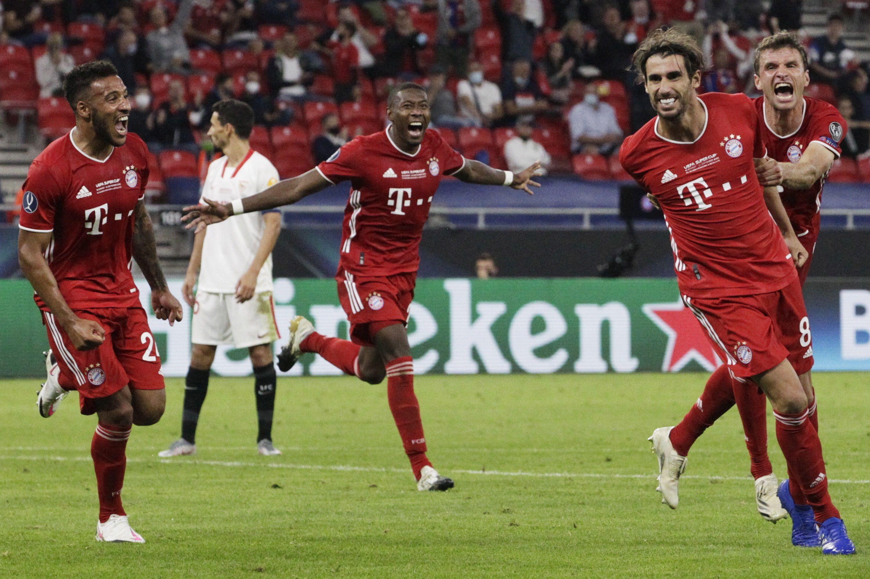 El Bayern venía de ganar la Supercopa de Europa ante el Sevilla (EFE)