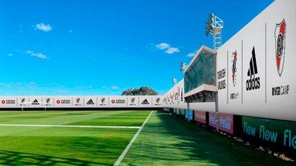 Una de las imágenes de la maqueta que River le presentará a la Liga Profesional y AFA