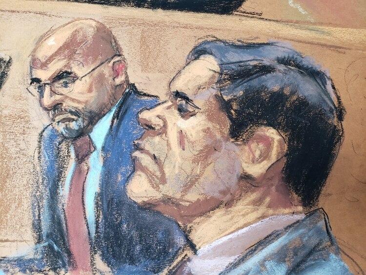 Hasta ahora la fiscalía ha presentado tres testigos que ha dado detalles sobre las operaciones de Guzmán Loera (Foto: Reuters/Jane Rosenberg)