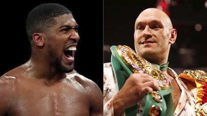 La pelea del año cada vez más cerca: Anthony Joshua y Tyson Fury se enfrentarán por el título indiscutible de los pesos pesados