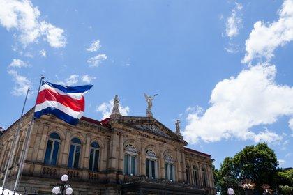 El Teatro Nacional de Costa Rica en San José (Shutterstock)