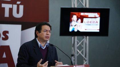 Mario Delgado presumió la participación en los procesos internos de miles de militantes y simpatizantes de Morena (Foto: Cortesía Morena)