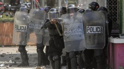 Represión en Nicaragua (AFP)