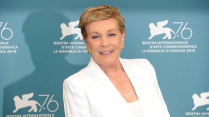 A  los 85 años Julie Andrews es una leyenda de Hollywood (Piergiorgio Pirrone / Lapresse / Shutterstock)