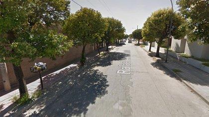 La calle donde ocurrió el robo del celular que inició la trágica secuencia del viernes
