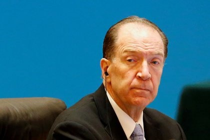 El presidente del Banco Mundial, David Malpass