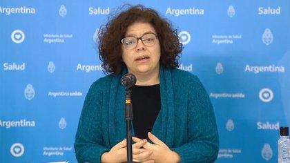 Carla Vizotti, secretaria de Acceso a la Salud