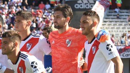 A Germán Lux se le vence el contrato en junio de este año (Foto Baires)