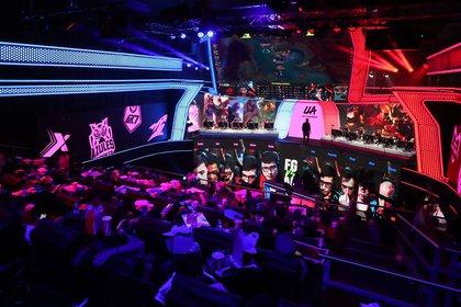 Fotografiá fechada el 15 de febrero que muestra una vista general del torneo de la liga Latinoamericana de League of Legends, en Ciudad de México (México). EFE/Mario Guzmán/Archivo
