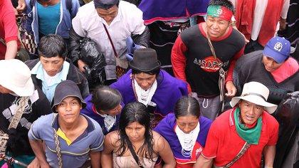 Minga indígena se reubicará: de Cali se asentará en Caldono