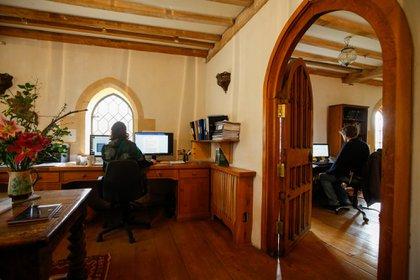 Oficinas de Beckley Foundation. Foto: Luke MacGregor/Bloomberg