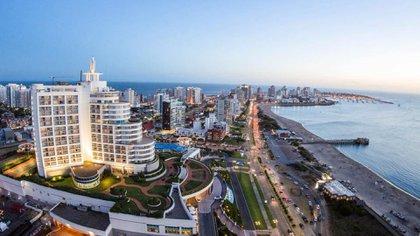 Punta del Este, uno de los destinos más elegidos por los argentinos que vacacionan en Uruguay