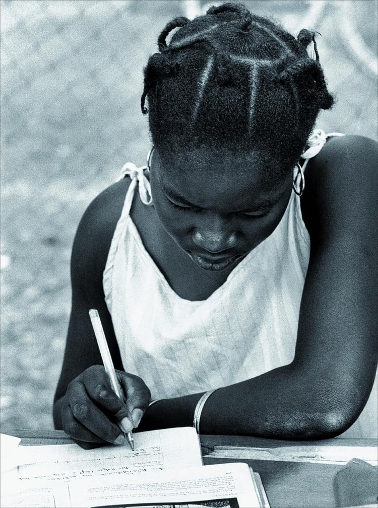 Una de las fotografías de Dominique Roger
