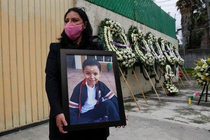 Ex directora del Rébsamen pidió disculpas a los padres de los 19 menores fallecidos en el terremoto de 2017 (Foto: Reuters / Henry Romero)