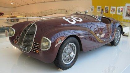 El modelo de competición, exhibido en el Museo de Ferrari. (Ferrari)
