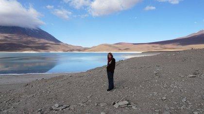 Laguna Azul, Bolivia