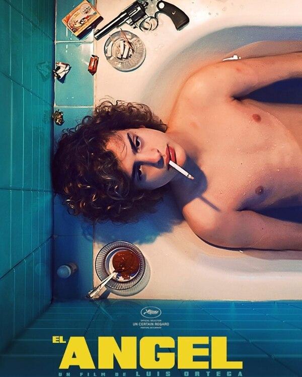 """El póster oficial de """"El Ángel"""", que tiene fecha prevista de estreno para agosto próximo. (Foto: Instagram)"""