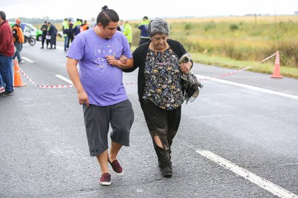 Algunos de los heridos se habrían ido por sus propios medios y se intenta determinar si están a salvo
