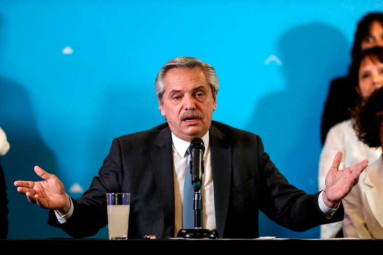 Críticas de la dirigencia de CRA al presidente Alberto Fernández, por no pronunciarse sobre los delitos rurales EFE/Juan Ignacio Roncoroni/Archivo
