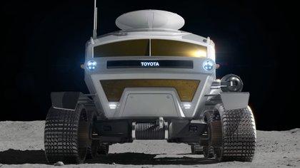 El Lunar Cruiser presurizado en el que están trabajando Toyota y JAXA tendría una autonomía total de más de 10.000 kilómetros.