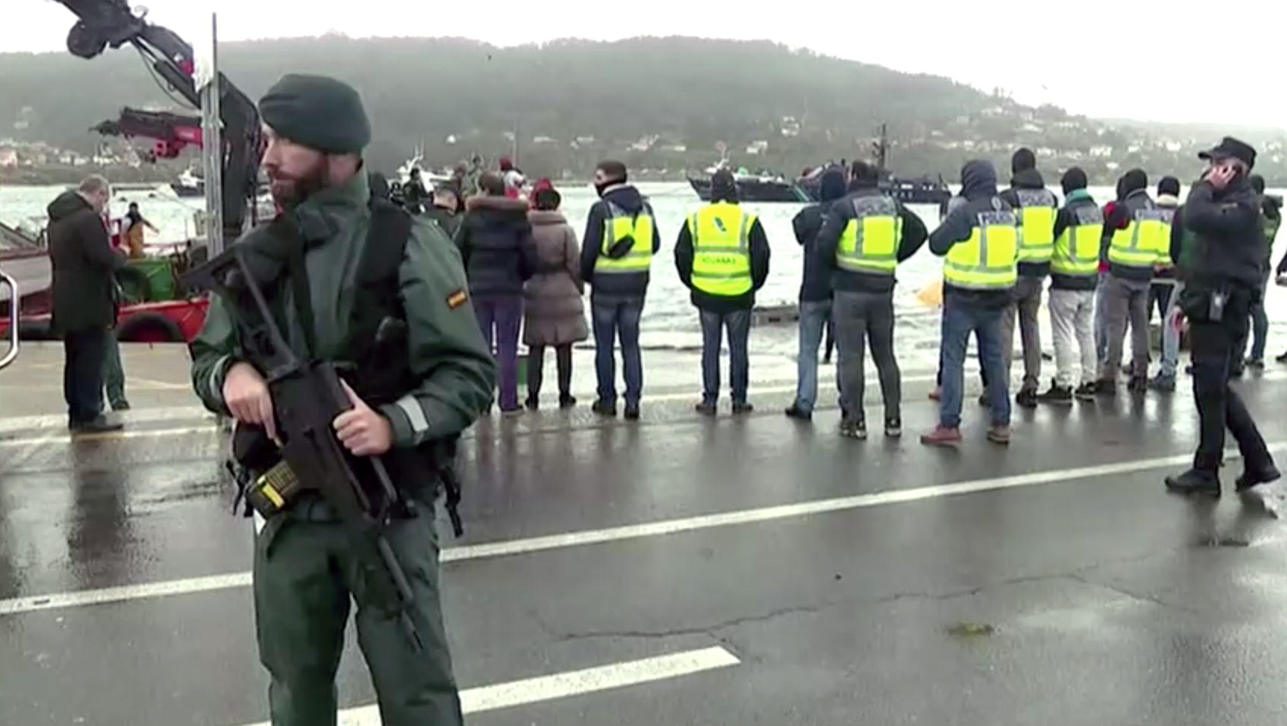 240 agentes participaron del operativo conjunto (Forta/REUTERS TV via REUTERS)