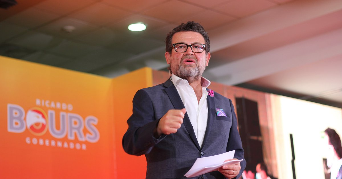 Who is Ricardo Bours, candidate for governor of Sonora who resigned MC and joined the PRI