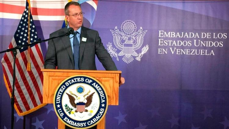 James Story, encargado de negocios para la oficina externa de Estados Unidos para Venezuela