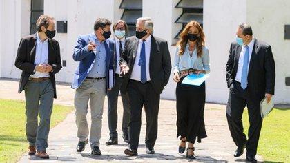 Alberto Fernández encabezó la primera reunión del año del Consejo Federal Argentina Contra el Hambre (Foto: Presidencia)